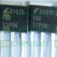 80PCS MOSFET Transistor FAIRCHILD TO-251 FQU11P06 FQU11P06TU 11P06
