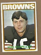 1972 TOPPS MIKE PHIPPS FOOTBALL CARD #96 EX FREE SHIPPING