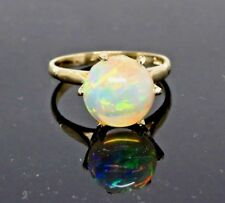 Antiques style Opal Ring 14ky Gold Size 6