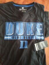 Duke Blue Devils T-shirt  Cotton Tee By Colosseum black size 3XL