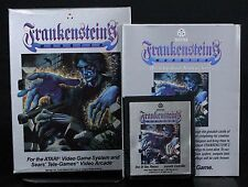 2600 Frankenstein's Monster with Box & Manual Atari 2600 1983 Free US Shipping