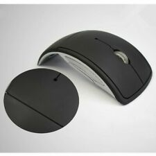 Wireless Optical Foldable Folding Mouse Arc & Receiver 2.4Ghz - Shipped from UK