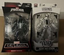MARVEL LEGENDS SERIES AGENT VENOM AND AGENT ANTI VENOM