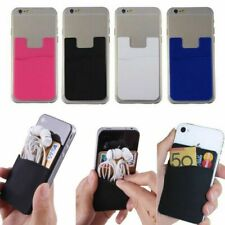 Silicone Phone Credit Card Holder Adhesive For LG Optimus 4X HD