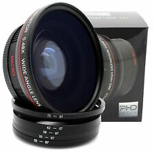 67MM HD Wide Angle Macro Lens for Canon EOS Rebel T6i T5i T5 T3i T3 60D 70D SL1