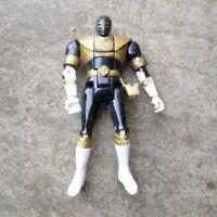 Power Rangers Zeo Bandai Action Figure Black 1996 Flip Head Free UK P+P