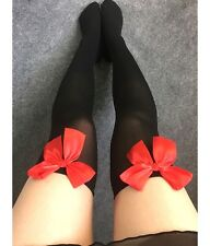 FD3043 Women Girl Lolita Bowknot Over The Knee Thigh High Stockings Long Stocks