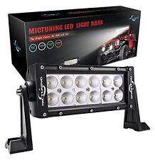 "MICTUNING 7.5"" 36W LED Light Bar flood Off Road For SUV ATV UTV Jeep Work lamp"
