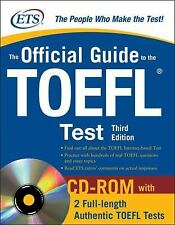 The Official Guide to the TOEFL test, 3d Ed. CD-ROM with