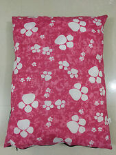 COVERS ONLY OF LARGE DOG BED REMOVABLE WASHABLE ZIPPED COVER
