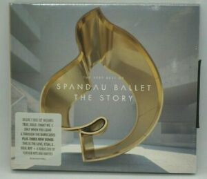 Spandau Ballet : The Story (The Very Best Of) - 2CD DELUXE EDITION - Tony Hadley