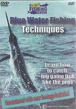 The Fishing Show - Blue Water Game Fishing Techniques (DVD, 2009), NEW REGION 4