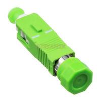 FC APC Female to SC APC Male Fiber Optic Adapter SM FC-SC Hybrid Optical Adapter