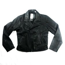 Levi's Made And Crafted Leather Moto Jacket Size S MSRP $498