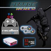 Set Retrogame Arcade su Raspberry PI3 - 2 GamePad Case SD 32Gb - RetroK