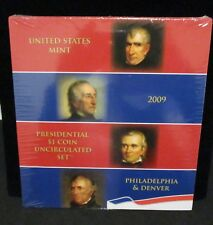 2009 P & D Presidential $1 Coin Uncirculated Set - Unopened!      ENN COINS