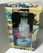 Superman Classic Tin Carousel Toy Schylling 2001 Krypto Streaky Supergirl