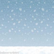 Christmas Wonderland Scene Setter Room Roll Backdrop – Winter Sky