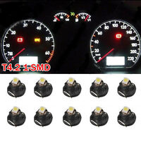 10X White T4/T4.2 Neo Wedge LED Bulb Cluster Instrument Dash Climate Light Sales