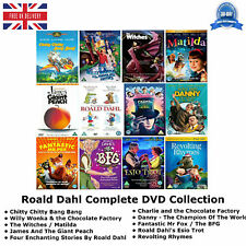 Roald Dahl Complete Collection - Chitty Chitty Bang Bang New and Sealed UK DVD