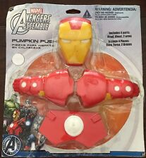 Iron Man Marvel Avengers Superhero Halloween Party Pumpkin Push-In Decoration
