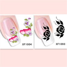 2Sheet/New Fashion Trend Beautifully Beautiful DIY Nail Stickers XF1004+1093
