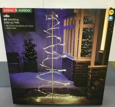 Wliko 6ft Indoor & Outdoor Pop-up Twinkling Tree