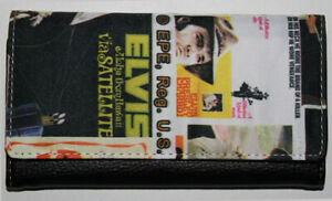 """New - Elvis Presley """"Collage Style"""" Collectible Wallet  AI1103 - Retired"""