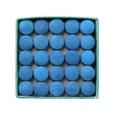 New listing 50pcs 9mm 10mm Blue Billiard Pool Cue Tips Hardness Snooker Stick Accessories