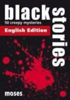 Black Stories. English Edition, Brand New, Free shipping in the US