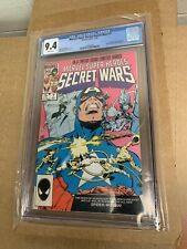 MARVEL SUPER HEROES SECRET WARS #7 CGC 9.4 WHITE PAGES