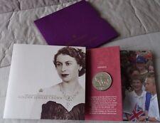 2002 Her Majesty Queen Elizabeth II Golden Jubilee Crown United Kingdom £5 Coin