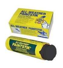 LA-CO ALL-WEATHER PAINT STICK Resists Weather Fading Non-toxic SET OF 3 Black