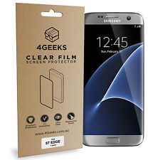 4Geeks Full Curved Fit TPU Screen Protector (2-Pack) - Samsung Galaxy S7 Edge