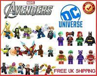 Marvel Avengers DC SuperHero Mini Figures Lego Endgame Series UK STOCK - CHOOSE