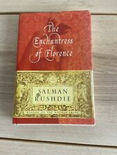 SIGNED 2008 SALMAN RUSHDIE THE ENCHANTRESS OF FLORENCE NOVEL FIRST EDITION