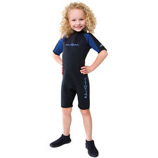 NeoSport by Henderson Children's 2mm Back Zip Shorty 2mm Neoprene Swim Suit