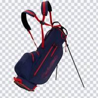 TaylorMade 2019 Litetech Waterproof Golf Bag - Navr/Blood Orange