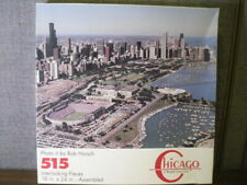 Bob Horsch Gallery Chicago Illinois Souvenir Puzzle - City Skyline Aerial View