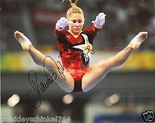 Shawn Johnson Reprint Signed 8x10 Photo #1 RP Olympic Gold Medalist Gymnastics