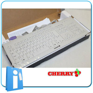 Teclado Cherry diseño Ultrafino  Delgado Blanco G85-2300 Español