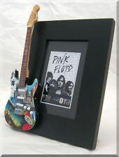 PINK FLOYD Miniature Guitar Frame new