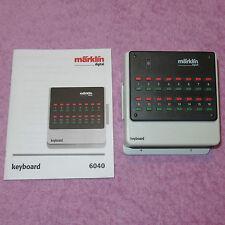 MÄRKLIN DIGITAL Spezial-Keyboard 10fach 6040 mit Garantie