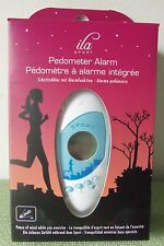 ila Sport PEDOMETER ALARM Peace of Mind While Exercise-Counts Calories& Distance