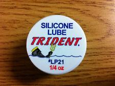 Silicone Lube Grease 1/4 oz Can Food Grade Dive Regulator O-Ring Scuba LP21