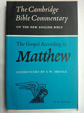 A W ARGYLE.THE GOSPEL ACCORDING TO MATTHEW.CAMBRIDGE BIBLE COM.1ST S/B 63.V/GOOD