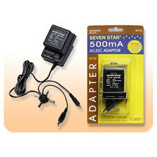 Sevenstar SS103 500MA AC/DC Input110-220 VACAdapter Output 3/4.5/6/7.5/9/12 V DC