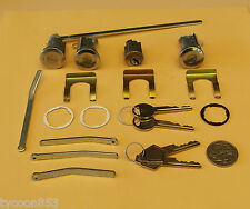 IGNITION BARREL + 2 DOORS & BOOT LOCK SUIT CHRYSLER VALIANT VF VG 1969 - 1971