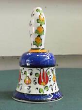 Turkish hand-made ceramic bell