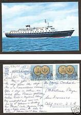 Greece Sc 1046 on 1972 Stella Maris II PAQUEBOT PPC 3;9